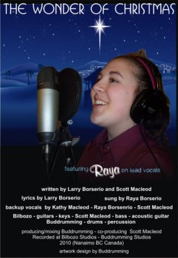The Wonder of Chrismas sung by Raya Borserio