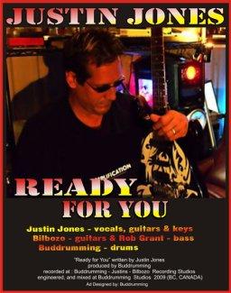 Ready for You - Justin Jones - Bilbozo - Rob Grant - Buddrumming