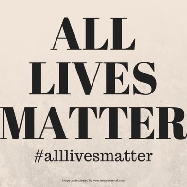 All Lives Matter - Super Collaboration