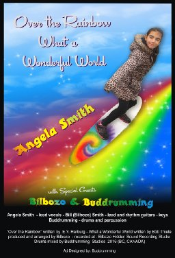 Somewhere over the Rainbow & What a wonderful World - Angela Smith - Bilbozo - Buddrumming