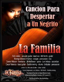 Cancion Para Despertar a un Negrito - La Familia