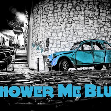 Shower Me Blue