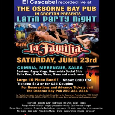 El Cascabel - La Familia Live at Crofton BC June 23 2018