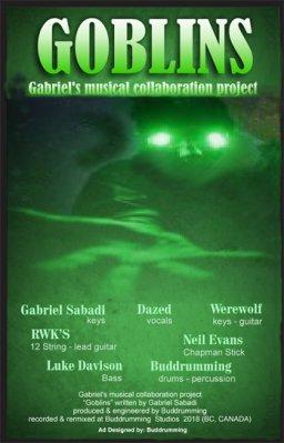 Goblins featuring Gabriel Sabadi on keys