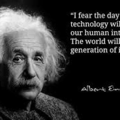 Technology Is Killin' Me