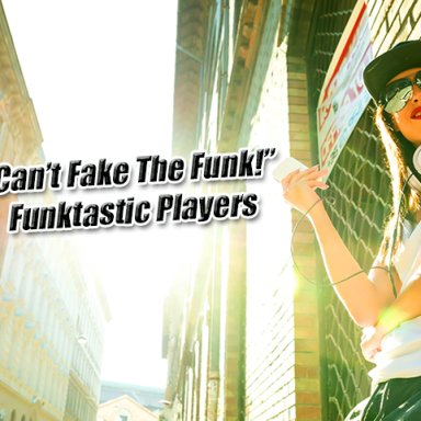Can't fake the funk