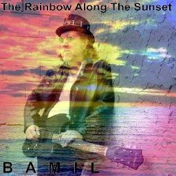 The Rainbow Along The Sunset