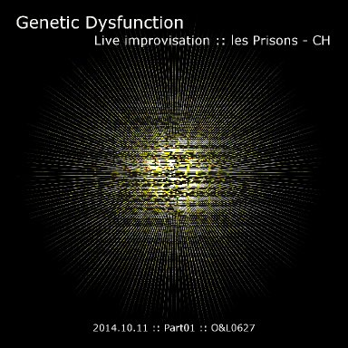 Live Improvisation at les Prisons - CH - 2014.10.11 - Part01