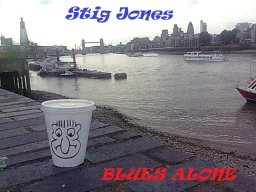 Blues alone