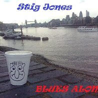 Blues alone