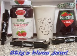Stig's blues jam