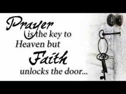 Pray Is The Key