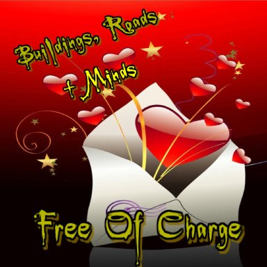 Free Of Charge By Buildings, Roads + Minds