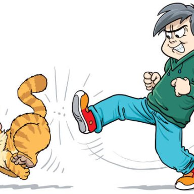 Stop Kicking That Cat