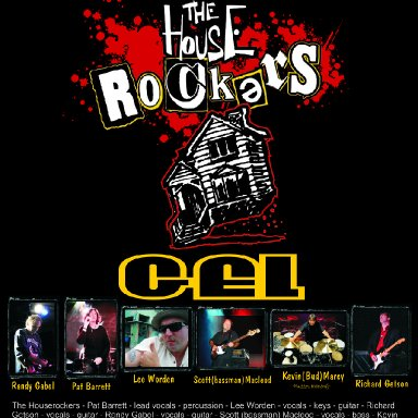 Gel - The Houserockers - Live at the Queens