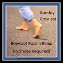 Barefot Rock n Blues Tonight!