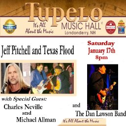A Evening of Southern Rock With Dan Lawson, Michael Allman and Charles Neville with Jeff Pitchell and Texas Flood