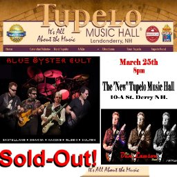 Sold Out show with Blue Oyster Cult and The Dan Lawson Band