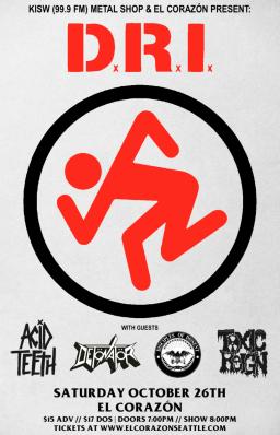 KISW (99.9 FM) Metal Shop & El Corazon Present