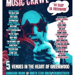 GREENWOOD MUSIC CRAWL 2019