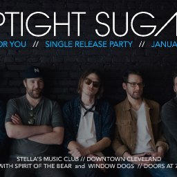 Uptight Sugar Single Release Show wsg Spirit of the Bear and Window Dogs