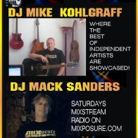 DJ Mack Sander & Kohlgraf Saturdays ad