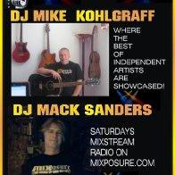 DJ Mack Sander & Kohlgraff Saturdays ad