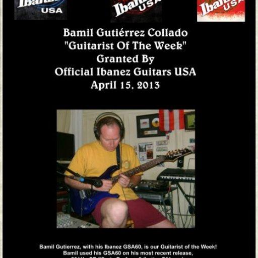 Guitarist Of The Week Ibanez USA