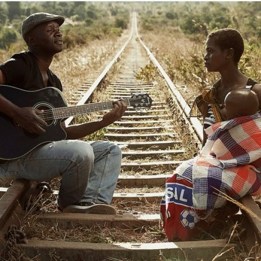 Man singing to woman in Africa from Sandra Luccio
