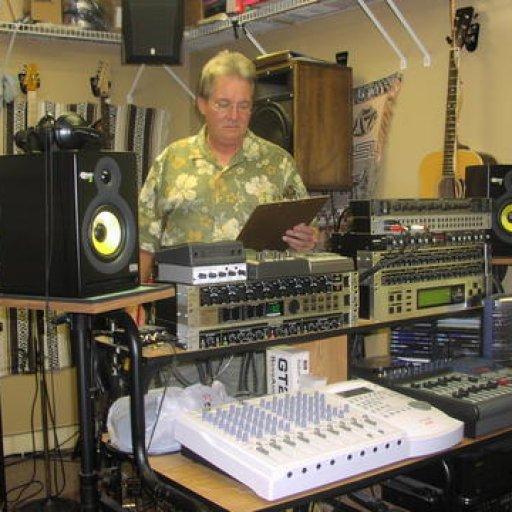 FJ in studio