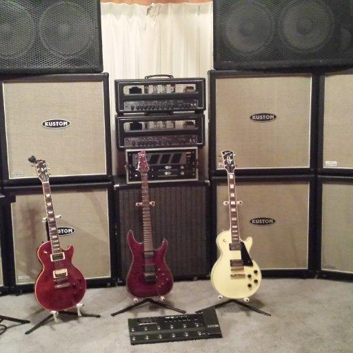 Ron's set up