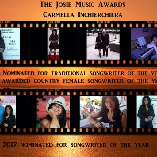 Josie Music Award Banner