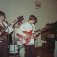 1966 L to R Larry Hunt, Randy Darner, Lonnie Reeves, Kenny Harless, and Farrell Jackson