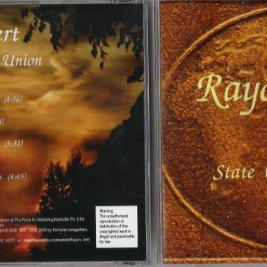 Rayon Vert - State of the Union - CD
