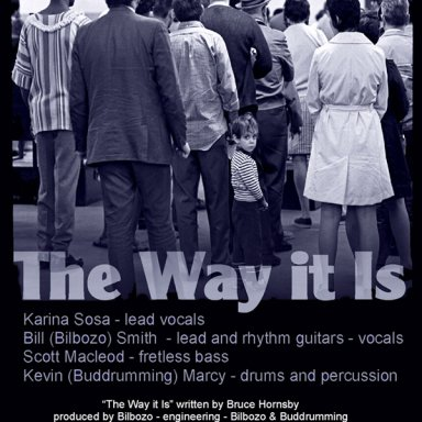 The Way It Is - Bilbozo - Buddrumming - Scott Macleod - Karina Sosa