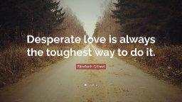 Desperate Love