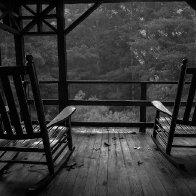 Porch Sittin',  Rain Pourin'