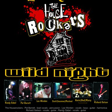 Wild Night - The Houserockers - Live at the Queens