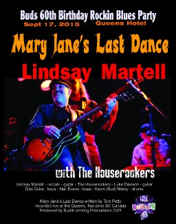Mary Jane's Last Dance - Lindsay Martell with the Houserockers - live at the Queens
