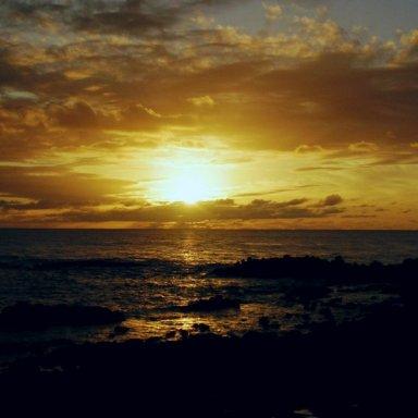 Sundown to sunrise