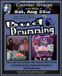 CSP with Buddrumnming - Mike K this Saturday - Aug 22 09