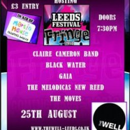 Leeds Festival Fringe Hosted by Claire Cameron Band