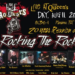 The Houserockers Live! 20 year Reunion Rocking the Rock on Vancouver Island