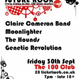 Claire Cameron Band headline show at 100 Club