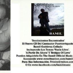 Sale CD BAMIL Sentimientos Encontrados
