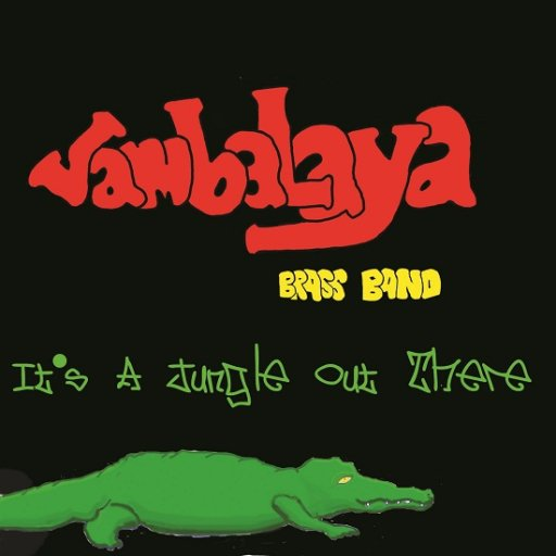 CD cover It\'s A Jungle Out There -2