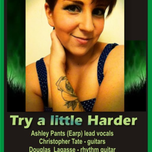 Try a little Harder ad - Ashley Pants