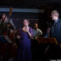 Monica with musicians,CD RELEASE