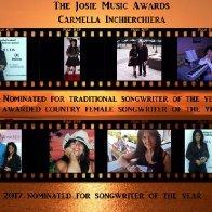 Josie Music Award Banner