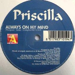 Priscilla - Always On My Mind (DJ Alvin Remix).jpg
